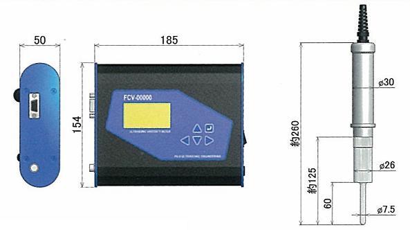 卓上粘度計測機器FCV-100外観図